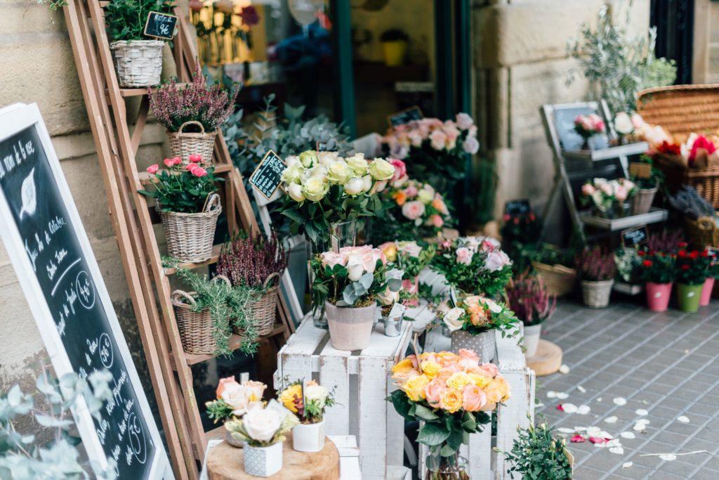 magasin fleuriste